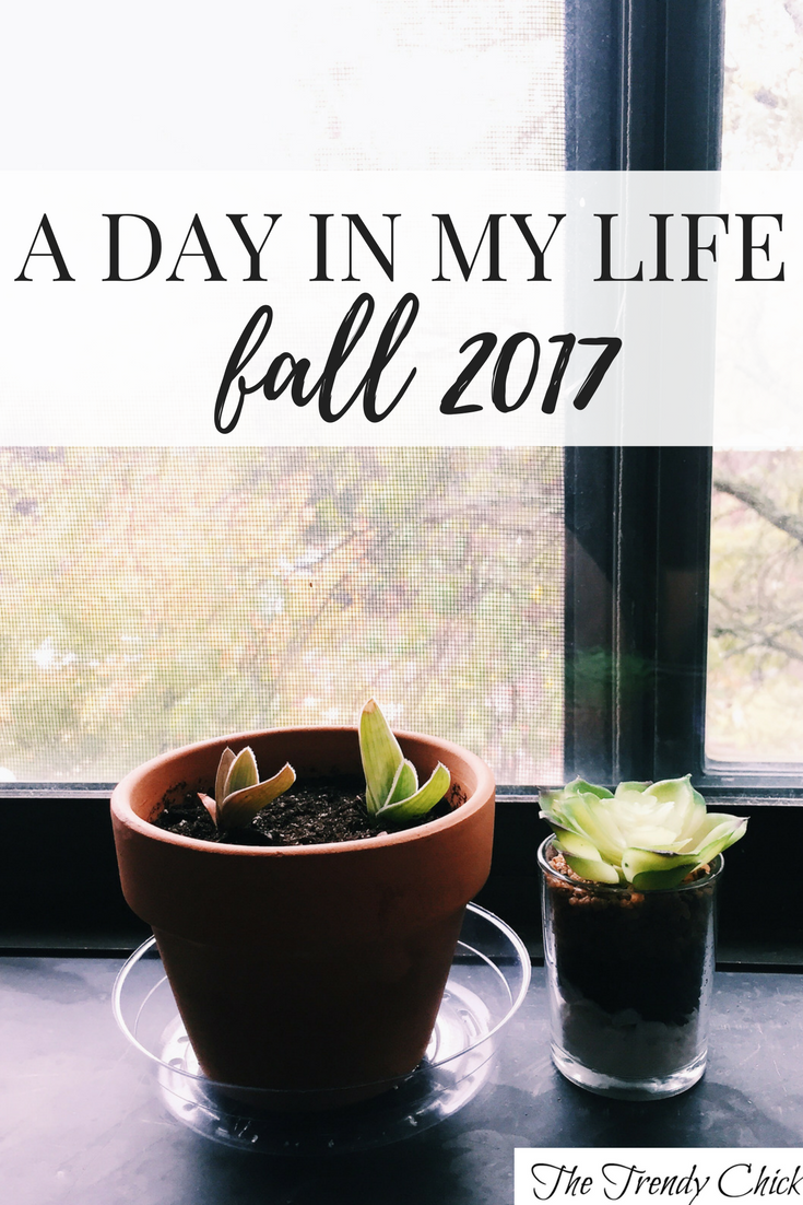 A Day In My Life – Fall 2017
