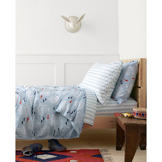 Hanna Andersson Viking Themed Nursery Sheets