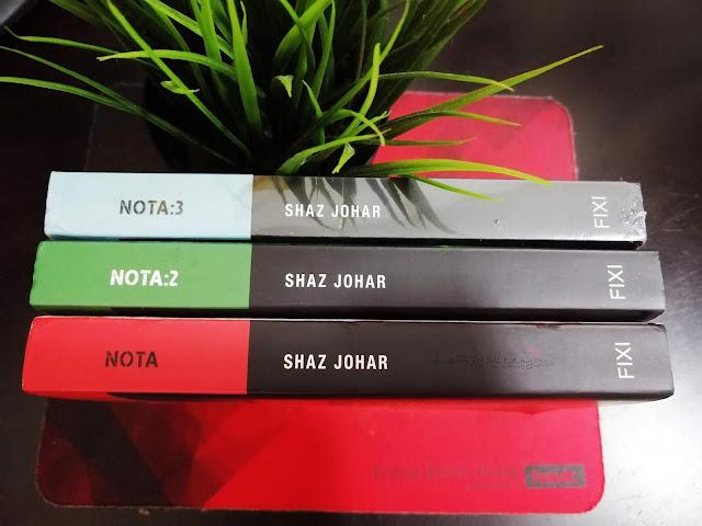 Review Novel Nota by Shaz Johar