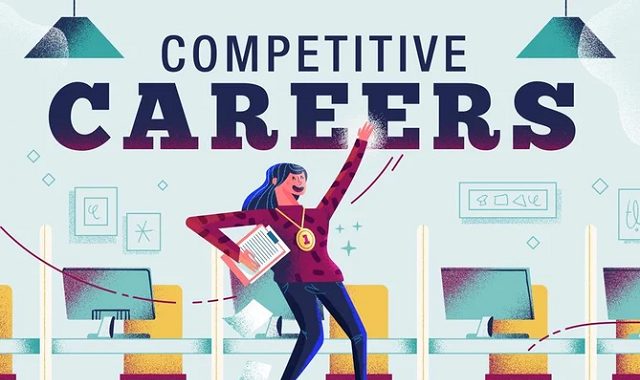 Best-paid jobs with the least competition
