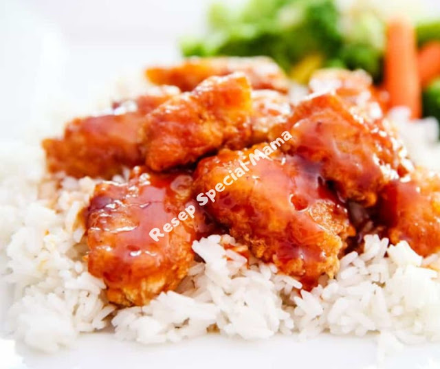 DELICIOUS SWEET & SOUR CHICKEN