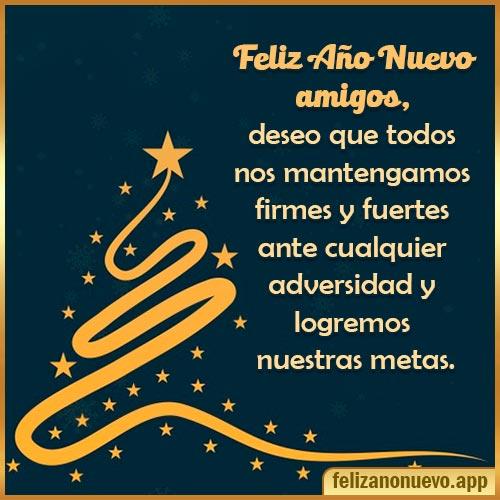 feliz año nuevo amigos