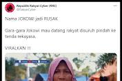 """VIRAL Video... Jokowi mau datang Pengungsi disuruh pindah, Pengungsi marah: """"Masa Pengungsi mau direkayasa. Cuma karena Jokowi, kita disuruh pindah!"""""""