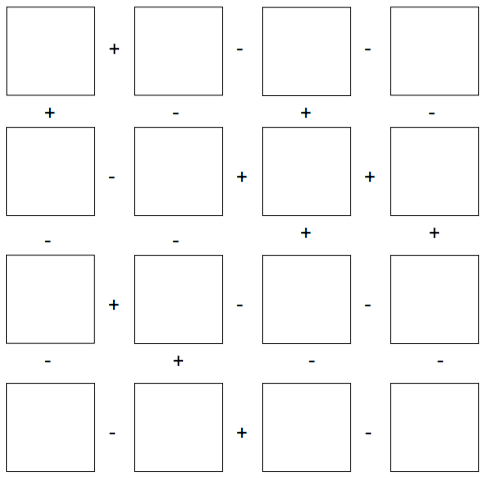 Adding and subtracting integers worksheet puzzle