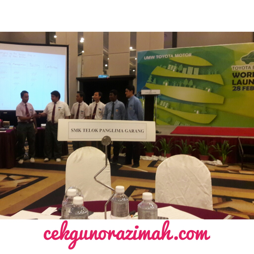 toyota eco youth 2017, team selangor, #EcoPanglima