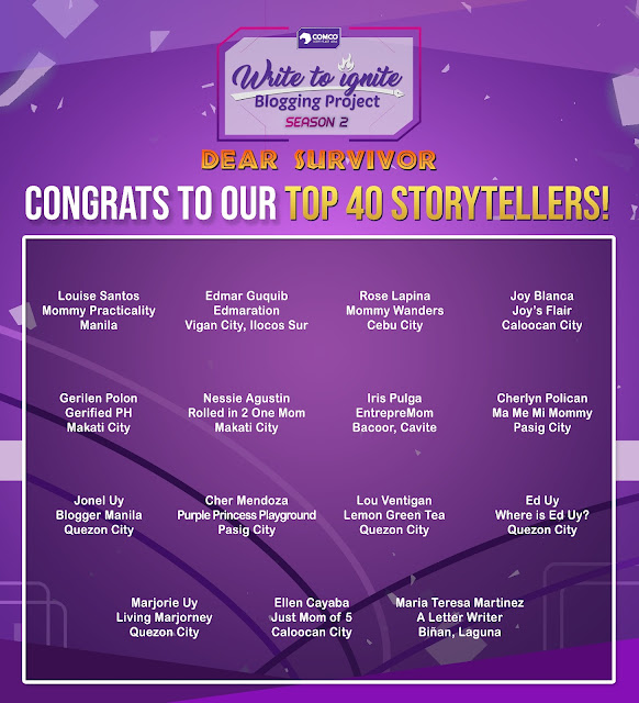 Top 40 Write to Ignite Blogging Project 2