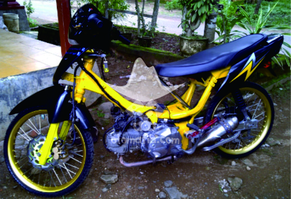Modifikasi Motor Supra Fit 2004 Arena Modifikasi