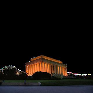 Lincoln-Memorial,-Washington-D.C.,-USA