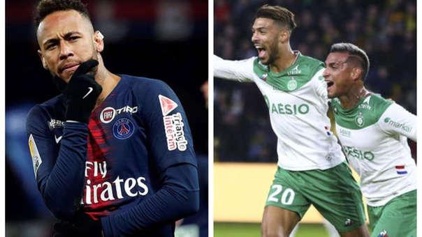 مشاهدة مباراة باريس سان جيرمان وسانت إيتيان بث مباشر اليوم