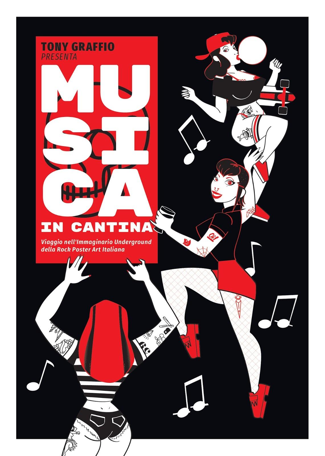 Copertina del libro di Tony Graffio Musica in Cantina