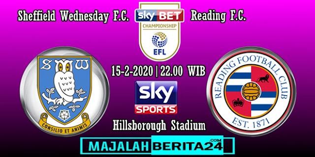 Prediksi Sheffield Wednesday vs Reading