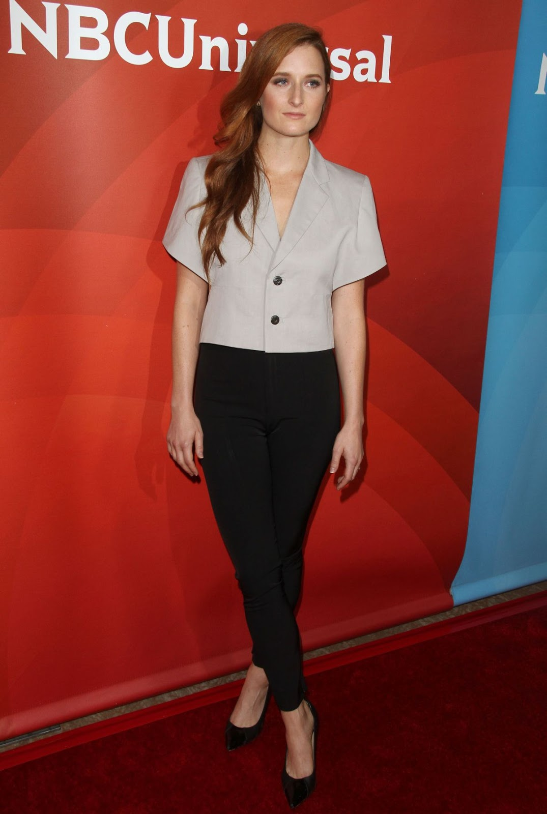 Grace Gummer at NBC Universal Press Day at 2016 Summer TCA Tour in Beverly Hills