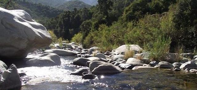 Rio Clarillo National Park, Metropolitan region, Chile.