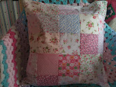 Patchwork cushions i make