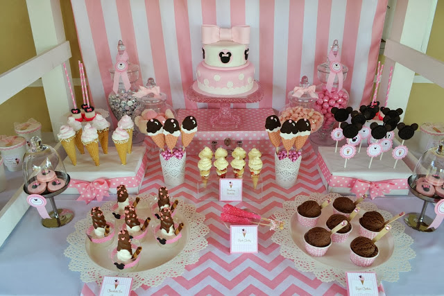 sweets and treats dessert table
