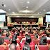 Magistrados e servidores comemoram o recebimento do Selo Justiça em Números do TJBA