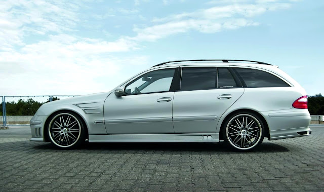 mercedes s211 wagon body kit prior design