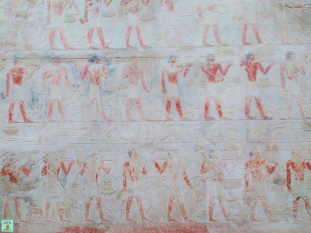 Tumba de Kagemni en Saqqara