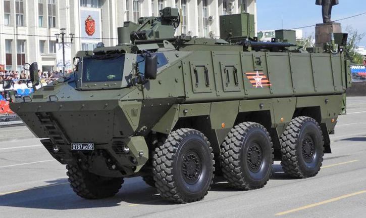 На Росії завершили створення нової машини РХБ-розвідки