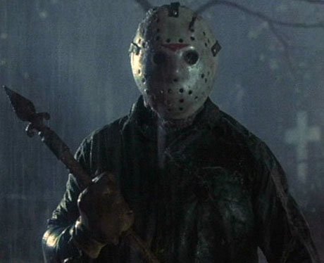 """La máscara de Hockey de Jason en """"Viernes 13"""""""