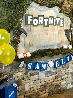 24 ideas para Fiesta de Cumpleaños Fortnite 4