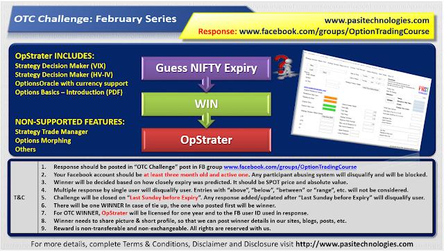 OTC Challenge: February 2019