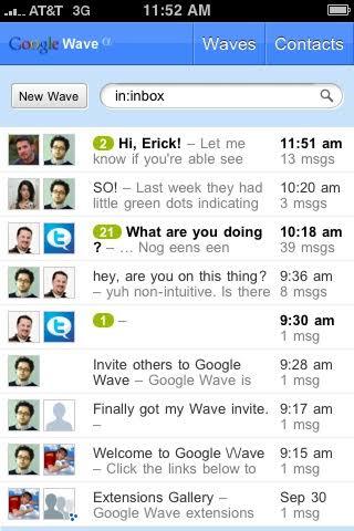 Google Wave App, Produk Gagal dan Tutup
