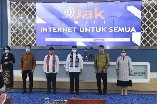 DKI Luncurkan Layanan Internet Gratis JakWIFI