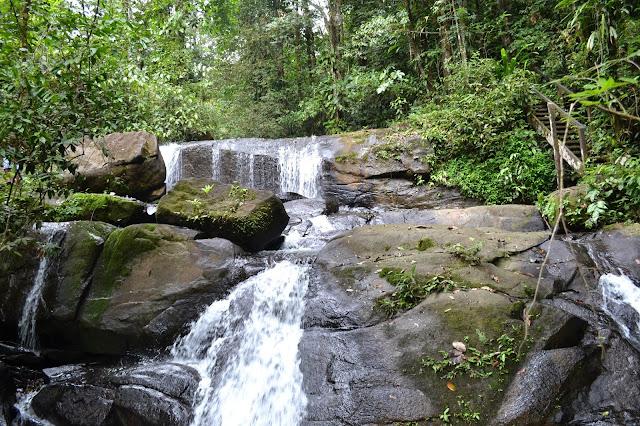 Guyane, cascade, fourgassier, fourgassier, randonnée, balade, Amérique du sud