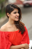 Rhea Chakraborty in Red Crop Top and Denim Shorts Spicy Pics ~  Exclusive 349.JPG