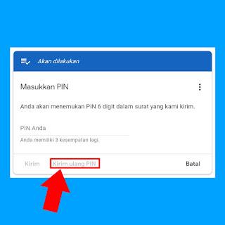 Cara Verifikasi Ulang Pin Google AdSense di Android