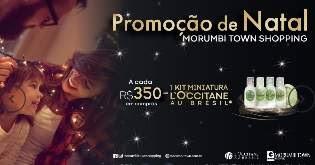 Promoção Morumbi Town Shopping Natal 2018 Compre e Ganhe Kit L'occitane
