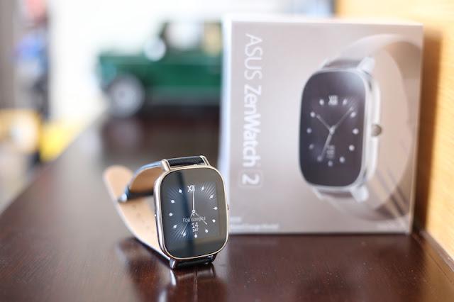 ASUS ZenWatch 2 悠遊卡錶帶快充進化版