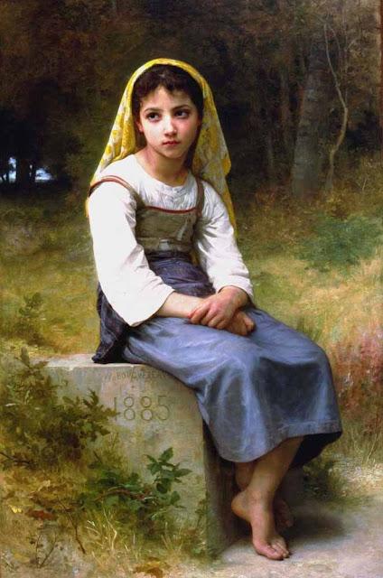 Адольф Вильям Бугро - Раздумье (1885)