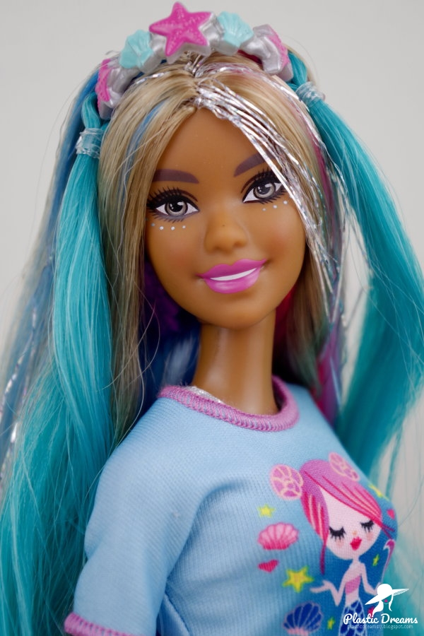 fantasy hair barbie doll mermaid
