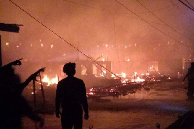 Ini Dia Daftar Nama-nama Pemilik Rumah yang Terbakar di Lamurukung Bone