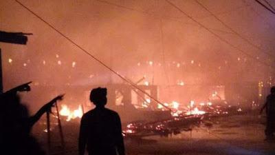 Ini Dia Daftar Nama-nama Korban Pemilik Rumah yang Terbakar di Lamurukung Bone