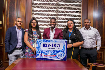 Tobi Bakre signs endorsement deal with Delta Soap