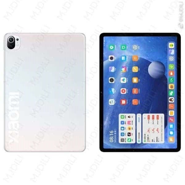 XIAOMI MI PAD 5 FIRST RENDER LEAKED: 11-INCH HIGH REFRESH RATE DISPLAY & A NEW MIUI FOR TABLET