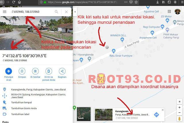 Cara Mencari Koordinat Lokasi di Google Maps