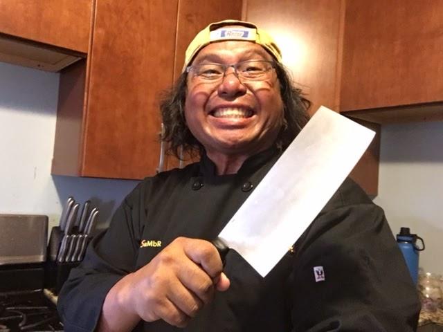 Chef Sambrano Round Table Pizza Kihei Maui Nfl On The Tube