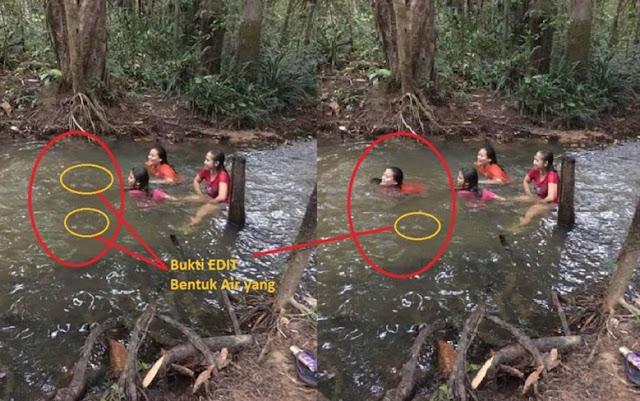 Tetamu Tak Diundang di Sungai Sarawak