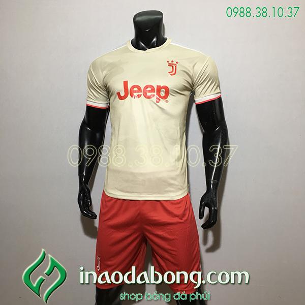 Áo Bóng Đá CLB Juventus Màu Trắng 2020 Đẹp