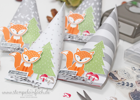 Foxy Friends-Stampin up