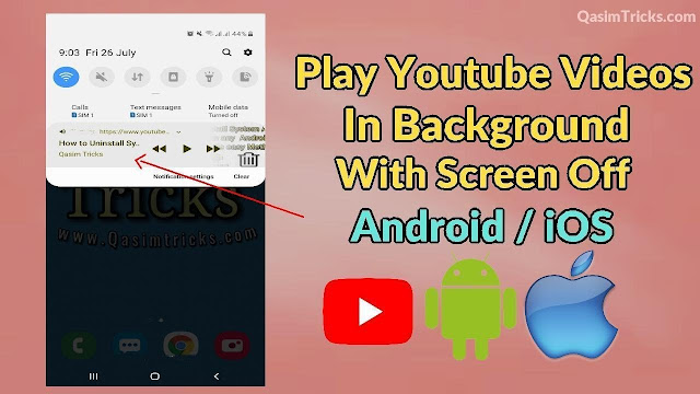 How to Play Youtube videos in the background (Android & iOS) 2019