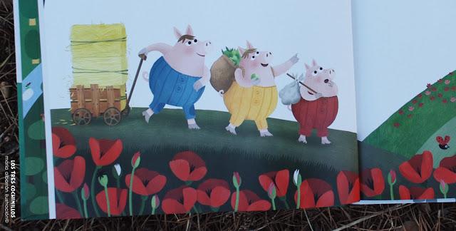 Los Tres Cerditos - Maria Albarran Ilustracion