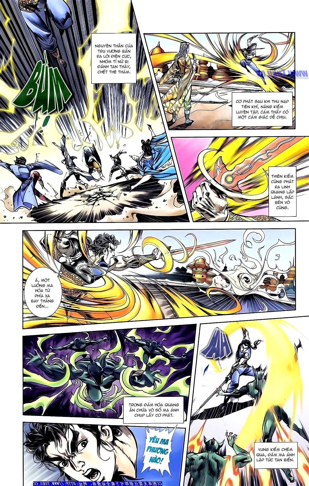 Cơ Phát Khai Chu Bản chapter 153 trang 14