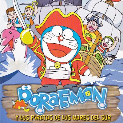 Doraemon y los piratas de los mares del sur - [1998]