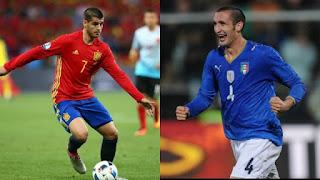 موعد مباراة اسبانيا وايطاليا في نصف نهائي يورو 2020.