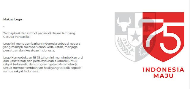Logo HUT RI Ke 75 Hari Kemerdekaan RI Ke 75 Tahun 2020 ...